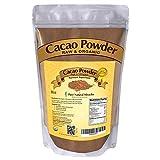 PURE NATURAL MIRACLES Organic Cacao Powder Unsweetened Raw Cocoa 8 oz - Single Origin