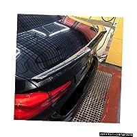 カーボンファイバーM4スタイルブラックカーテールウィング装飾リアトランクスポイラー