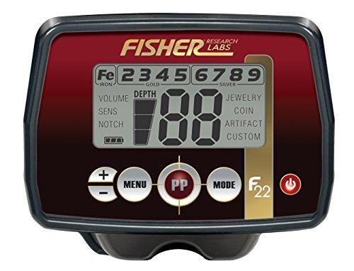 fischer Fisher F22 - Detector de Metales con Bobina de Buceo
