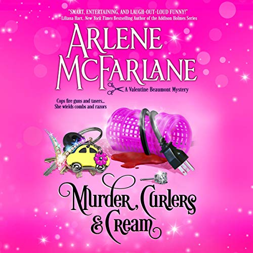 Murder, Curlers, and Cream audiobook cover art