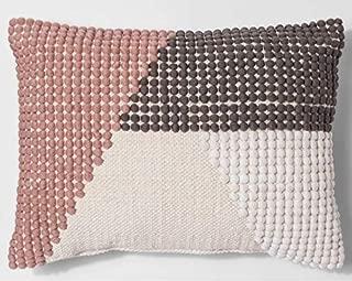 Best texture color block lumbar pillow project 62 Reviews