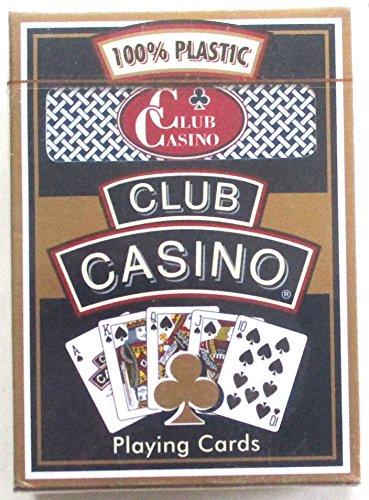 Hoyle Brand Club Casino Blue Playing Cards Premium Poker Room Casino Finish Nib