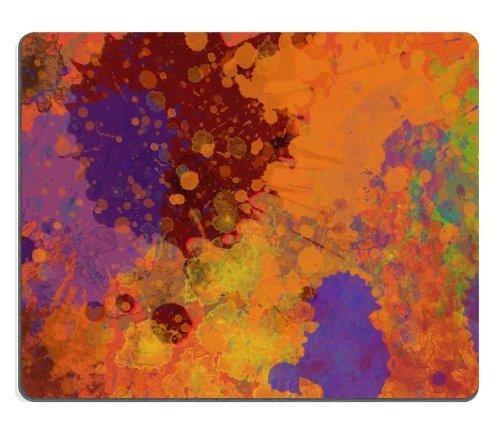 Abstracto pintura Rainbow Color Spray ratón almohadillas customized made to order Support...