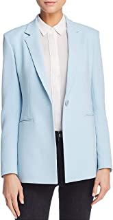 Womens Power 2 Crepe Business One-Button Blazer