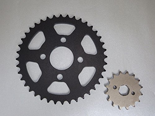 Ersatzteil für/kompatibel mit Shineray 250 STXE Tuning Kettenrad + Ritzel 16/37