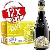 Baladin - Box Birra Nazionale Forte- Birra artigianale 100% Italiana - IPA Chiara (India Pale Ale), Doppio Malto, Non Pastorizzata, 7,5% vol. - 12 bottiglie x 33cl