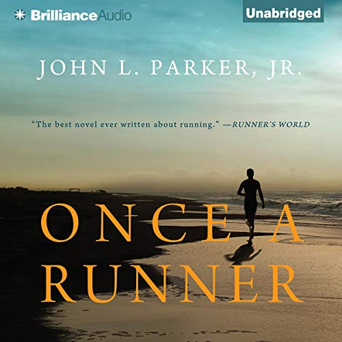 Once a Runner audiobook cover art