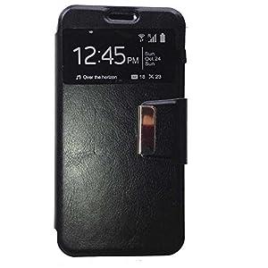 Todobarato24h Funda Libro Ventana Negra Motorola Moto G4 G4 Plus