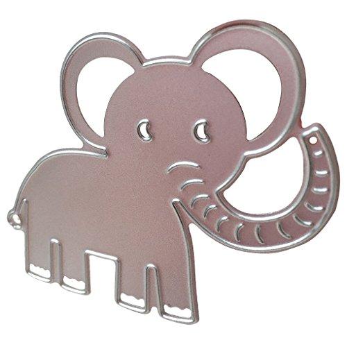 Koolstofstaal babyolifant stencils sjabloon snijden stansmessen, snij sjabloon, ets sterven sterft DIY kaart maken tool