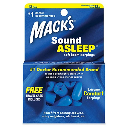 Mack's Sound Asleep Ear Plugs (12 Pair) - Dark Blu