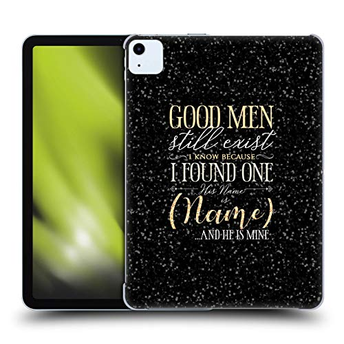 Custom Customised Personalised Name Quotes Boyfriend Or Husband Hard Back Case Compatible for Apple iPad Air (2020)