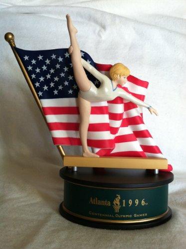 Hallmark Gymnastik Figur Atlanta 1996Centennial Olympischen Spiele