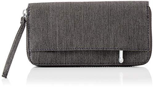 Kipling IMALI, Wallets Donna, Black Peppery, 19x10x1 Centimeters (B x H x T)