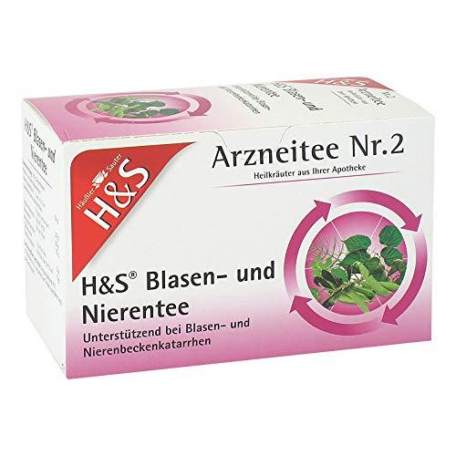 H&S Blasen- und Nierentee Arzneitee Nr. 2, 20 St. Filterbeutel
