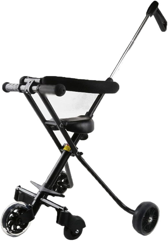 ventas en linea Triciclos Triciclos Triciclos Empuje de la Mano Niños Take Baby out Plegable de la Comodidad 1-6 años del Coche de Juguete  Ahorre hasta un 70% de descuento.
