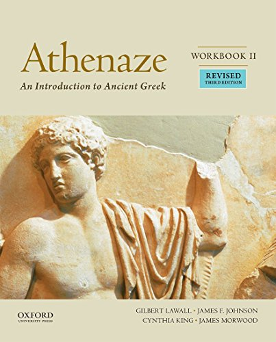 Athenaze: An Introduction to Ancient Greek, Workbook II