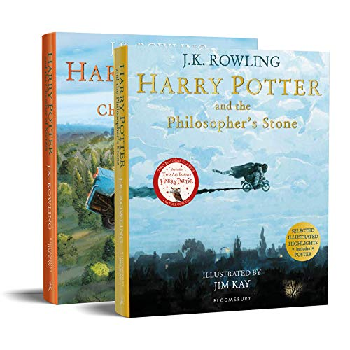 Harry Potter Illustrated Paperback Starter Set: Amazon Exclusive
