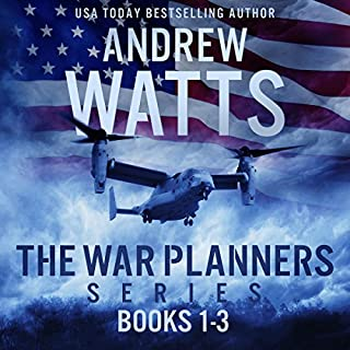 The War Planners Series, Books 1-3     The War Planners, The War Stage, and Pawns of the Pacific               By:                                                                                                                                 Andrew Watts                               Narrated by:                                                                                                                                 Michael Pauley                      Length: 26 hrs and 20 mins     8 ratings     Overall 4.6
