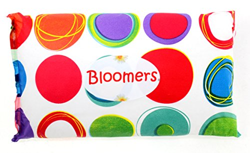 Bloomers Disposable Single Use Diaper / Pullup, Change Kits for Life On The Go! Bright Crazy Dots (Medium  (16 to 28 pounds), Bright Crazy Dots)