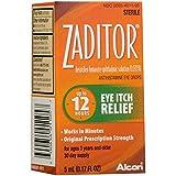 Zaditor Eye Itch Relief Antihistamine Eye Drops - 0.17 fl oz, Pack of 2
