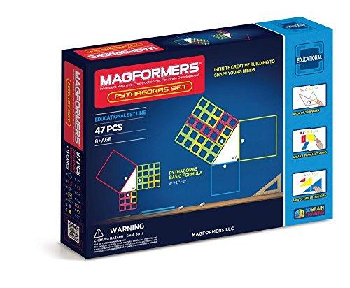 MAGFORMERS Amazon Exclusive Pythagoras Set 47 Piece Playset [並行輸入品]