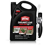 Ortho GroundClear Year Long Vegetation Killer - With Continuous Spray Comfort Wand, Visible Results...