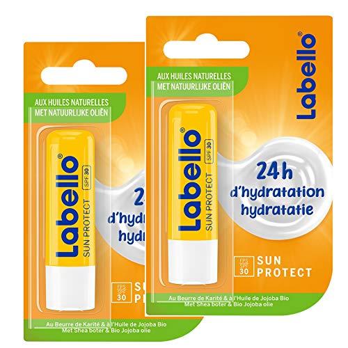 NIVEA SUN Labello Protection Solaire FPS 30 (2 x...