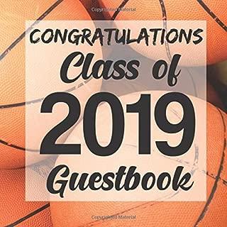 Congratulations Class of 2019 Guestbook: Basketball Sports Jock Graduation Party Guest Sign In Book Registry Graduate Parties Supplies Senior Keepsake ... Address University College High School