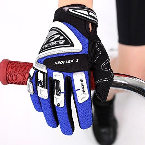 GP-Pro Neoflex 2 Cub Kinder Motorrad-Handschuhe - Offroad/Motocross - Blau - XS