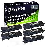 Paquete de 5 cartuchos de impresora láser B2236DW, MB2236ADW, MB2236ADWE (alta capacidad) de repuesto para Lexmark B222H00