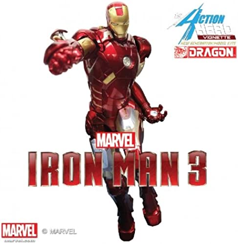 comprar marca Dragon Models Iron Man Man Man 3 Estatua PVC Action Hero Vignette 1 9 Iron Man Mark VII Special Edition 23 cm  servicio honesto