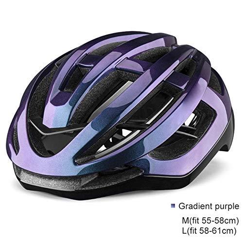 YWZQ - Casco de bicicleta portátil, protección de seguridad unisex para bicicleta,...