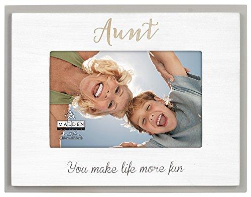 Malden International Designs 80118-46 Mother's Day 4X6 Aunt Laser SENTIMENTS