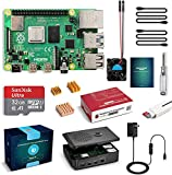 Raspberry Pi 4 4GB RAM Complete Starter Kit with 32GB MicroSD Card (4GB + 32GB)