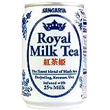 Japanese Sangaria Rich and Creamy Milk Tea Can 8.96 Fl oz (Royal Black Tea, 24 Cans)