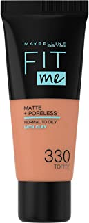 Maybelline New York Fit Me Matte & Poreless Foundation 330 Toffee