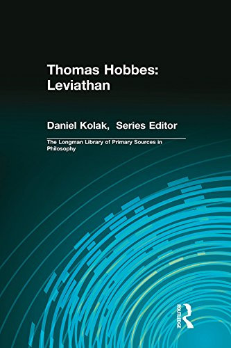 Thomas Hobbes: Leviathan (Longman Library of Primary Sources in Philosophy)