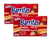 Marinela Barritas Fresa Strawberry Filled Cookie Bars, Individually Wrapped - 2 Boxes (16 ct.)