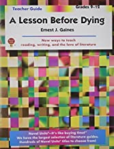 Lesson Before Dying - Teacher Guide by Novel Units, Inc. by Novel Units, Inc. (2012) Paperback
