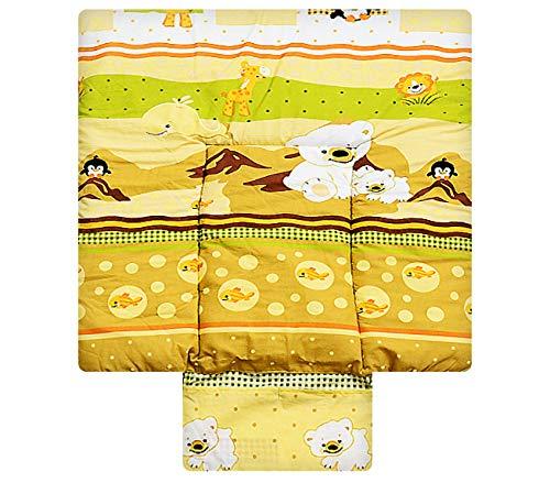 Best for Kids Matelas a Langer spécial Cuddly Soft 100% Coton Tapis de Table a Langer 3 en 1 en 3 Taille 70x70 avec Norme Öko Tex (Anja2)
