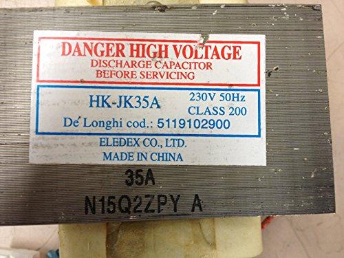 Trafo für Mikrowelle DeLonghi hk-jk35a (Refurbished zertifiziert)