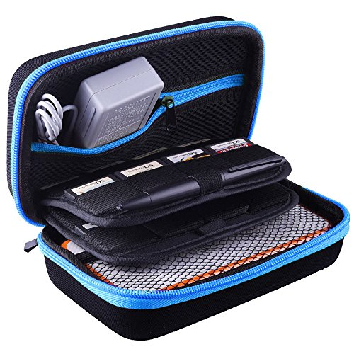 AUSTOR Carrying Case for New Nintendo 2DS XL, Blue
