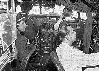 Media Storehouse 252 Piece Puzzle of Lockheed Constellation Cockpit (1569955)
