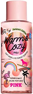 Victoria Secret Pink New! WARM & COZY Summer Edition Scented Body Mist 250ml