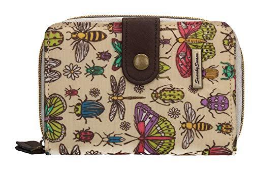Borella Butterfly & Bugs Small Folding Wallet