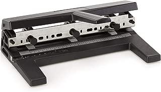 Swingline Hole Punch, Heavy Duty Hole Puncher, Adjustable, 2-7 Holes, 40 Sheet Punch Capacity, Black (74440)