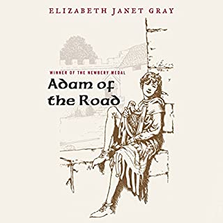 Adam of the Road audiobook cover art