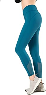 Yvette Women Running Tights Sports Leggings High Impact for Gym Training Workout-Sculpt Series