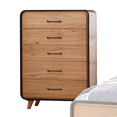 ACME Furniture Carla Chest, Oak and Black