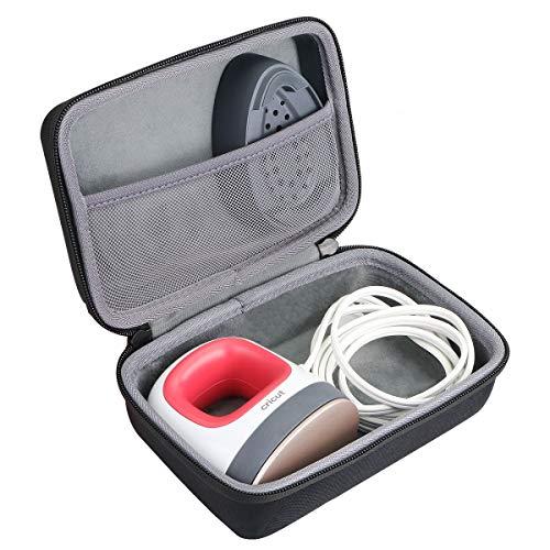 co2crea Hard Travel Case for Cricut Easy Press Mini Heat Press Machine (Black Case)